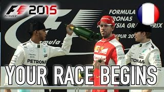 F1 2015 - PS4/XB1/PC - Your race begins (French Trailer)