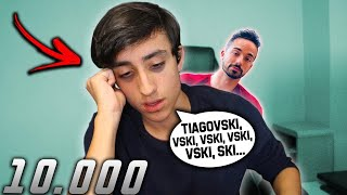 DISSE TIAGOVSKI 10 MIL VEZES EM DIRETO