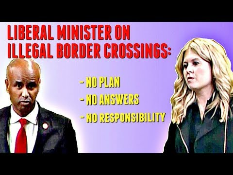 Liberal Party has no plan to deal with Canada's border crisis