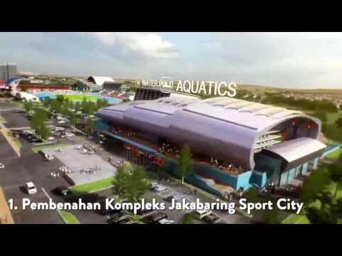 Woow ! Kota Palembang Akan Semakin Maju @Asian Games 2018 Update UNOFFICIAL