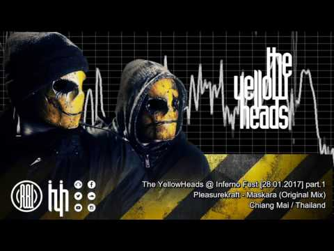 The YellowHeads @ Inferno Festival (Chiang Mai/Thailand) 28.01.2017 [Part.1]