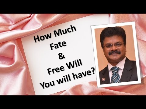 How much Fate and Freewill do you have?