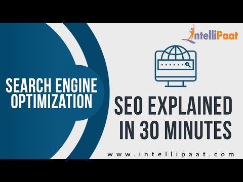 What is SEO? | SEO 2019 | Search Engine Optimization | SEO Tutorial | Intellipaat thumbnail