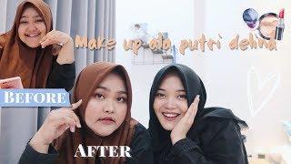 Makeup Ala Putri Delina 💄   Korean Inspired Makeup Tutorial