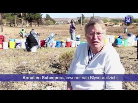 Blyvooruitzicht: Inwoners al weke sonder water