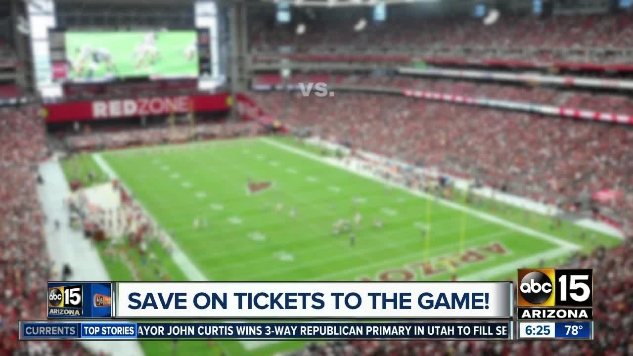 Which site has the best price for Arizona Cardinals tickets?