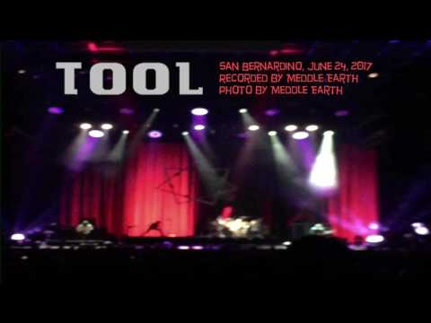 Tool live in San Bernardino by Meddle Earth (full concert soundtrack)