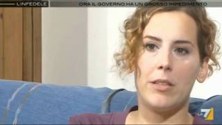 Perla Genovesi su Nadia Macrì e sulla compravendita dei seggi parlamentari (13/06/2011)