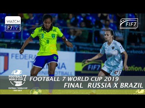 Russia Vs Brazil - Football 7 World Cup 2019 - Final Women