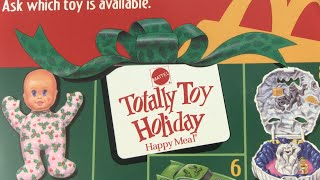 Mattel's Totally Toy Holiday Happy Meal Promotion | Toysplosion
