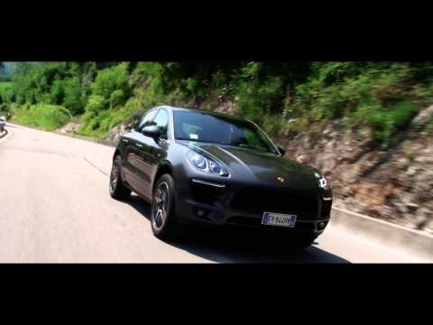 Macan Italian Press test drive June 2014, Treviso