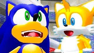 КРАСАВЧИК СОНИК И НЯШНЫЙ ТЕЙЛЗ! - Sonic Adventure DX - #1