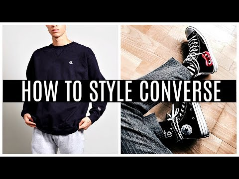 HOW TO STYLE HIGH TOP CONVERSE | Daniel Simmons