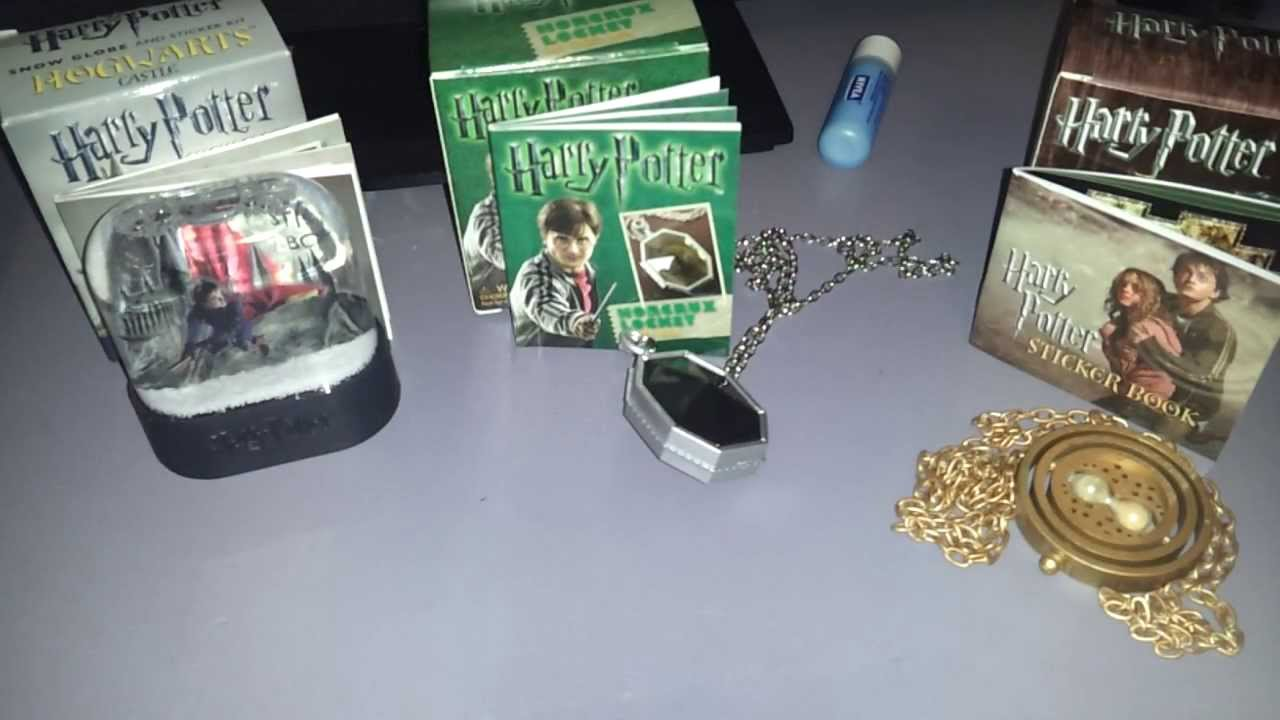 Harry potter sticker kit unboxing horcrux and snowglobe for Wand making kit