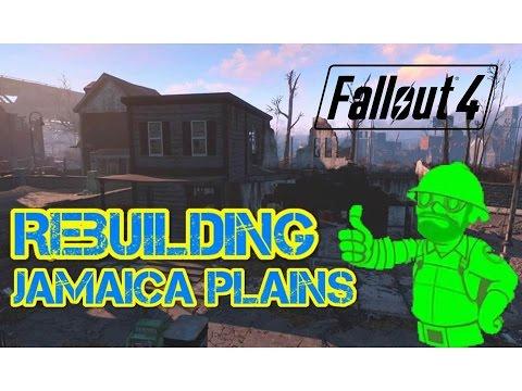 Fallout 4 - Rebuilding Jamaica Plain | Full Video