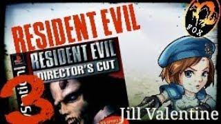 Resident Evil 1  Playstation(Jill Valentine) Boss 1 Episodio 3 Serpiente Gigante