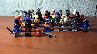 Моя коллекция минифигурок Лего. Нексо Найтс, Ниндзяго, Звёздные воины, DC. 34 фигурки)