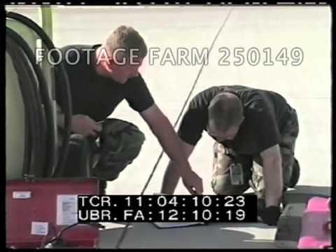2003 Iraq: Close Combat Attack Radio Training 250149-09   Footage Farm