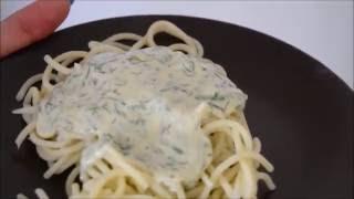 Спагетти со сливочно-чесночным соусом - просто объедение