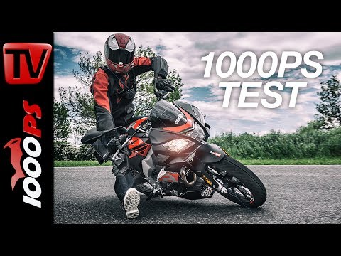 1000PS Test - Aprilia Tuono 125 im Test - Top Speed - Sound - Review