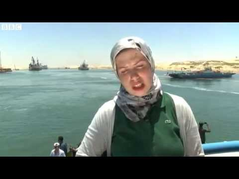 On The Banks Of Egypt's New Suez Canal