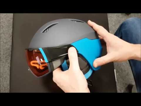 819f8cda0a58 HOW TO REMOVE VISOR SALOMON DRIVER MIRAGE HELMET - Tuto Casque visière  Salomon Driver enlever