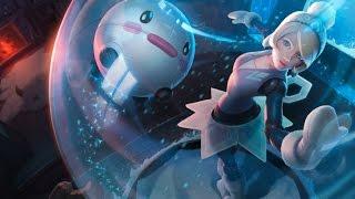Winter Wonder Orianna (Snowdown Showdown 2014) League Of Legends Login Screen With Music