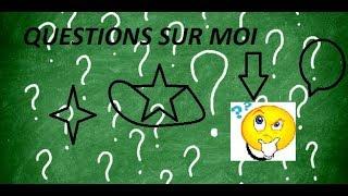 Questions sur moi!