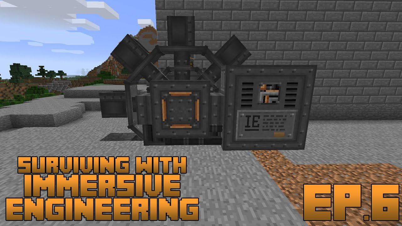 Surviving With Immersive Engineering :: Ep.6 - The Excavator - YouTube