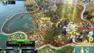 Civilization 5 gameplay - The Endless War HD