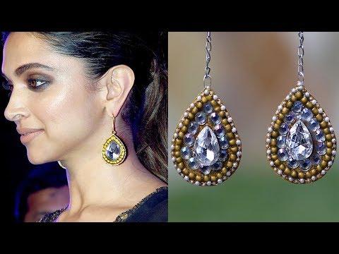 (DIY) Elegant Sabyasachi Inspired Earrings/Easy DIY/Designer Jewelry