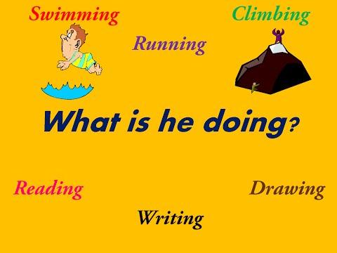 تعلم قواعد اللغة الانجليزية- الدرس السابع- المضارع المستمر الجزء الثاني