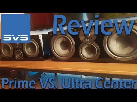 SVS Prime VS. Ultra Center Channel [REVIEW]