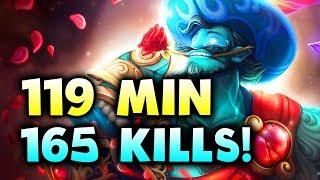 119 Min+ 165 KILLS - 9th LONGEST GAME EVER! - SPIRIT FERZEE FINAL - KL MAJOR DOTA 2