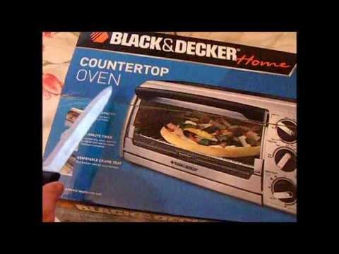 Countertop Oven Not Working : UNBOXING BLACK&DECKER Home COUNTERTOP OVEN - YouTube