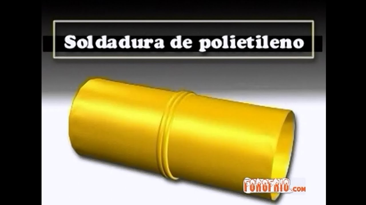 Soldadura de polietileno youtube - Tubo de polietileno precio ...