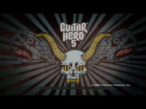 Guitar Hero 5 (PS2 Gameplay)