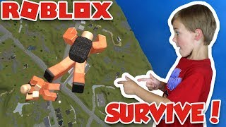 SURVIVE THE DEADLIEST ISLAND in ROBLOX | PRISON ROYALE | PUBG FOR KIDS