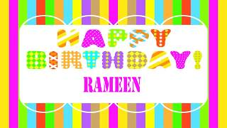 Rameen   Wishes & Mensajes - Happy Birthday