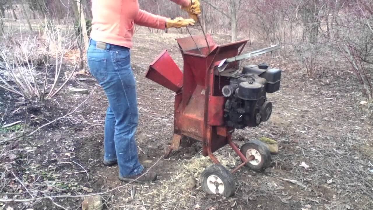 Wood Chipper Garden Shredder