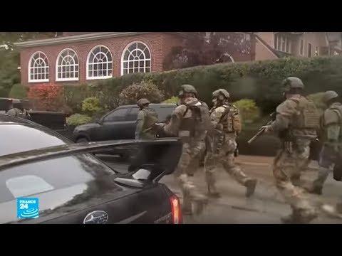 مسلح يتسلل إلى معبد يهودي ويقتل 11 شخصا بولاية بنسلفانيا الأمريكية