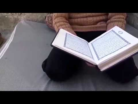 Beautiful Quran recitation from a child in Syria