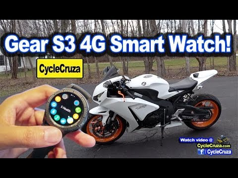 Samsung Gear S3 Frontier 4G LTE - FOR BIKERS? | MotoVlog
