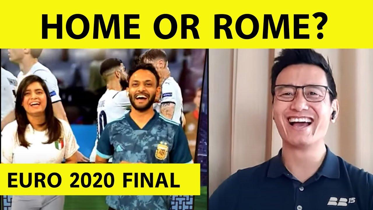 Live Euro 2020: England vs Italy, Build Up with Baichung Bhutia| Sports Tak