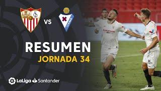Resumen de Sevilla FC vs SD Eibar (1-0)