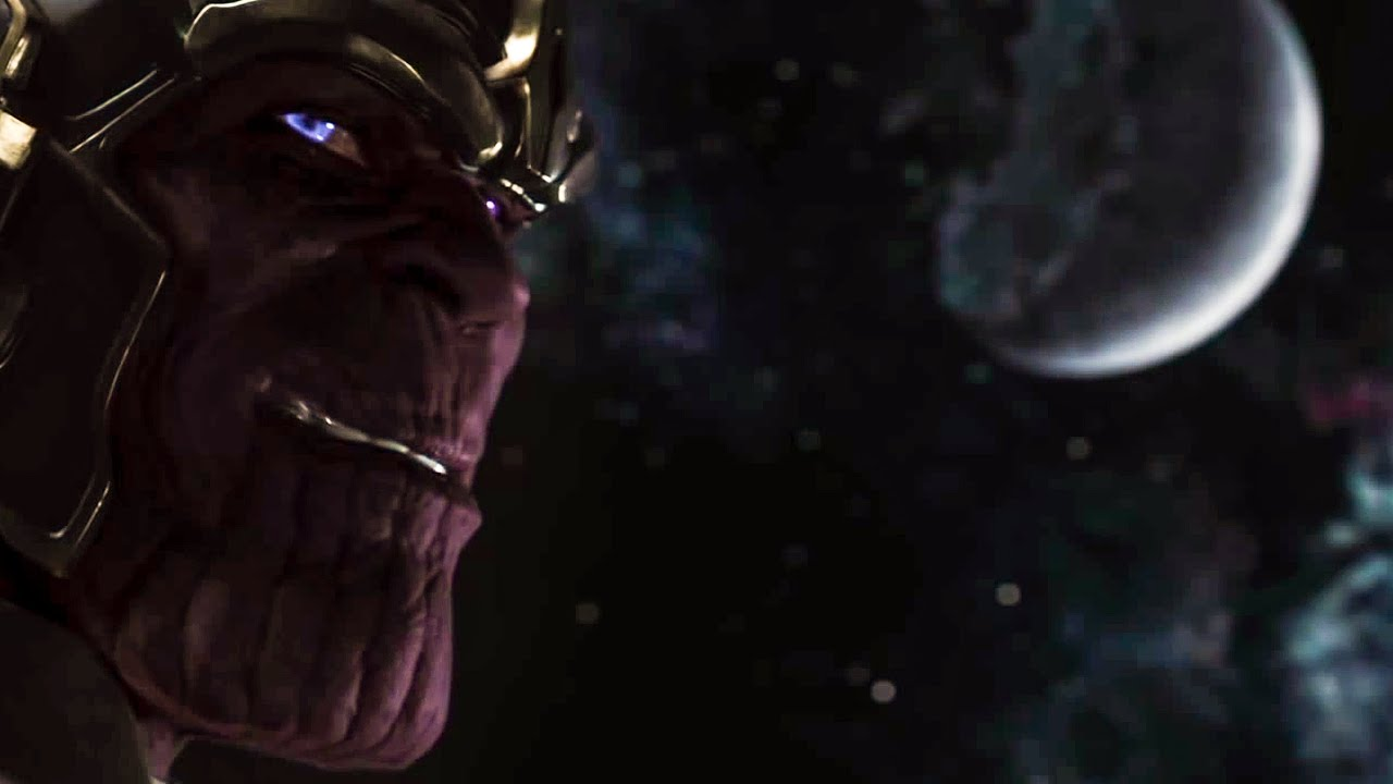THE AVENGERS - Thanos Post-Credit Scene (2012) Movie Clip - YouTube