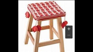 Узор на чехол для кухонного стула 1 часть