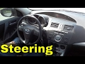 How Much To Turn The Steering Wheel When Turning A Car-Driving Lesson
