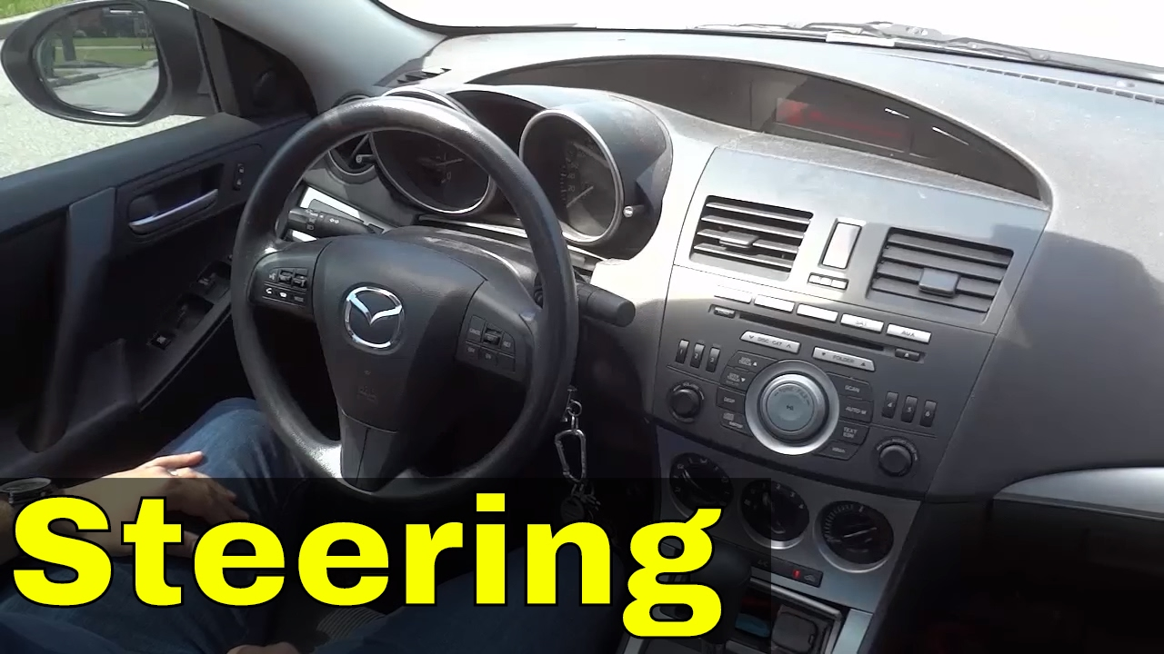how much to turn the steering wheel when turning a car driving lesson youtube. Black Bedroom Furniture Sets. Home Design Ideas