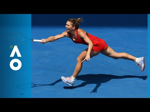 Simona Halep v Lauren Davis match highlights (3R) | Australian Open 2018
